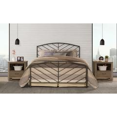 Essex Headboard and Footboard - King - Metal Bed Frame Not Included