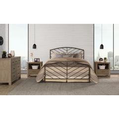 Essex Headboard and Footboard - Twin - Metal Bed Frame Not Included