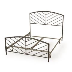 Essex Bed Set - Twin - Metal Bed Frame Included