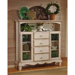 Wilshire Four-Drawer Baker's Cabinet, Antique White