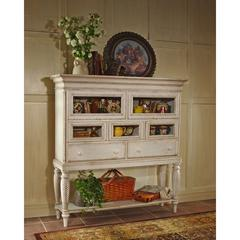 Wilshire Sideboard Cabinet, Antique White