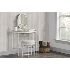 Cape May Vanity with Glass Top and Mirror
