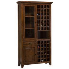 Tuscan Retreat 174 Tall Wine Storage Oxford Antique Pine