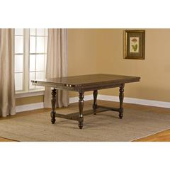 Seaton Springs Dining Table , Weathered Walnut