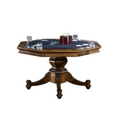 Nassau Game Table, Rich Oak