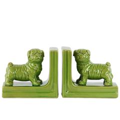 Ceramic British Bulldog Figurine Bookend Assortment of T