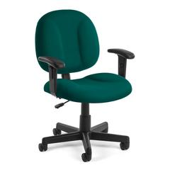 OFM Comfort Series Superchair with Arms, Teal