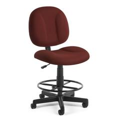 OFM Comfort Series Superchair with Drafting Kit, Wine