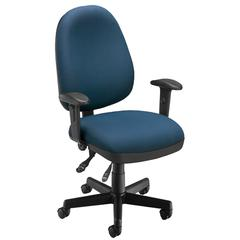 Ergonomic Sliding Seat Computer Task Chair - ComfySeat™, Navy