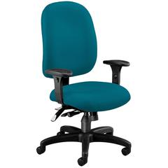Ergonomic Executive/Computer Task Chair - ComfySeat™, Teal