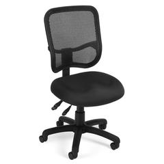 Comfort Series Ergonomic Mesh Task Chair - ComfySeat™, Black