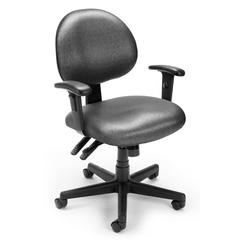 Elements 24 Hour Task Chair with Arms, Olympus Beluga