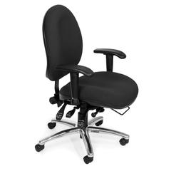OFM 24-Hour Big & Tall Chair, Black