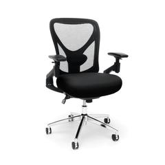 Stratus 24-Hour/Big & Tall Mesh Chair, Black