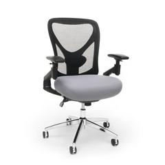 Stratus 24-Hour/Big & Tall Mesh Chair, Gray