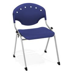 Rico Stack Chair without Arms, Navy