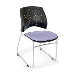 Stars Series Stack Chair, Blue