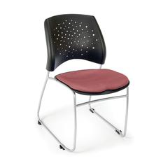 OFM Stars Series Stack Chair, Coral