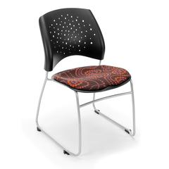OFM Elements Stars Stack Chair, Idiom Brown Eyed Girl