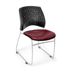 Stars Stack Vinyl Chair, Wine