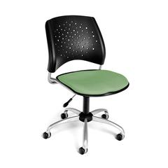 Stars Swivel Chair, Sage Green