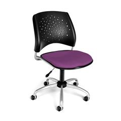 Stars Swivel Chair, Plum