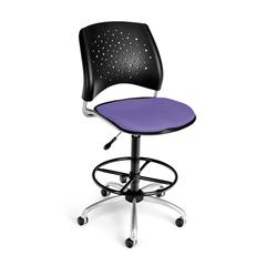 Stars Swivel Stool, Blue