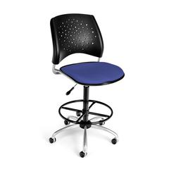 OFM Stars Swivel Stool, Colonial Blue