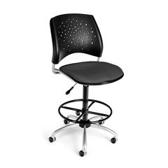 Stars Swivel Stool, Graphite