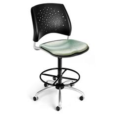 Elements Stars Swivel Chair with Drafting Kit, Olympus Laurel