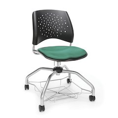 Star Series Foresee Chair - Shamrock Green