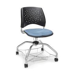 Star Series Foresee Chair - Cornflower Blue
