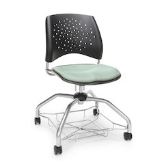 Star Series Foresee Chair - Sage Green