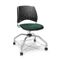 Star Series Foresee Chair - Forest Green