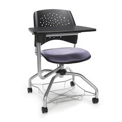 Star Series Foresee Tablet Chair Lavender