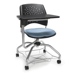 Star Series Foresee Tablet Chair Cornflowr Blue