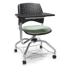 Star Series Foresee Tablet Chair Sage Green