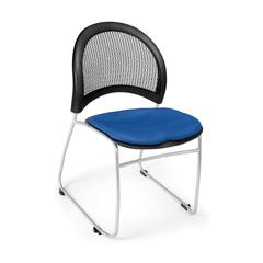 Moon Stack Chair, Royal Blue