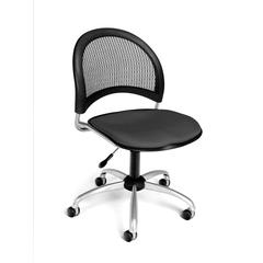 OFM Moon Swivel Chair, Graphite