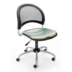 OFM Elements Moon Swivel Chair, Olympus Laurel