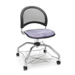 Moon Foresee Series Chair with Removable Fabric Seat Cushion - Student Chair, Lavender