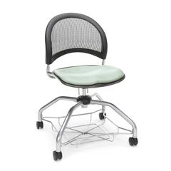 Moon Foresee Series Chair with Removable Fabric Seat Cushion - Student Chair, Sage Green