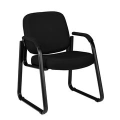 Guest/Reception Chair, Black