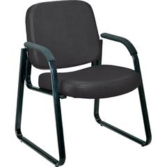 Guest/Reception Chair (Vinyl), Black