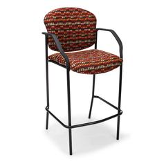 OFM Elements Manor Series Elements Cafe Height Chair with Arms