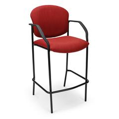 Elements Manor Series Elements Cafe Height Chair with Arms