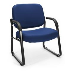OFM Big & Tall Guest/Reception Chair Navy