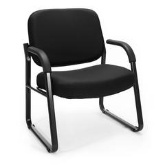Big & Tall Guest/Reception Chair Black