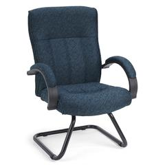 OFM Guest/Reception Chair, Blue