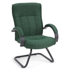 OFM Guest/Reception Chair, Green